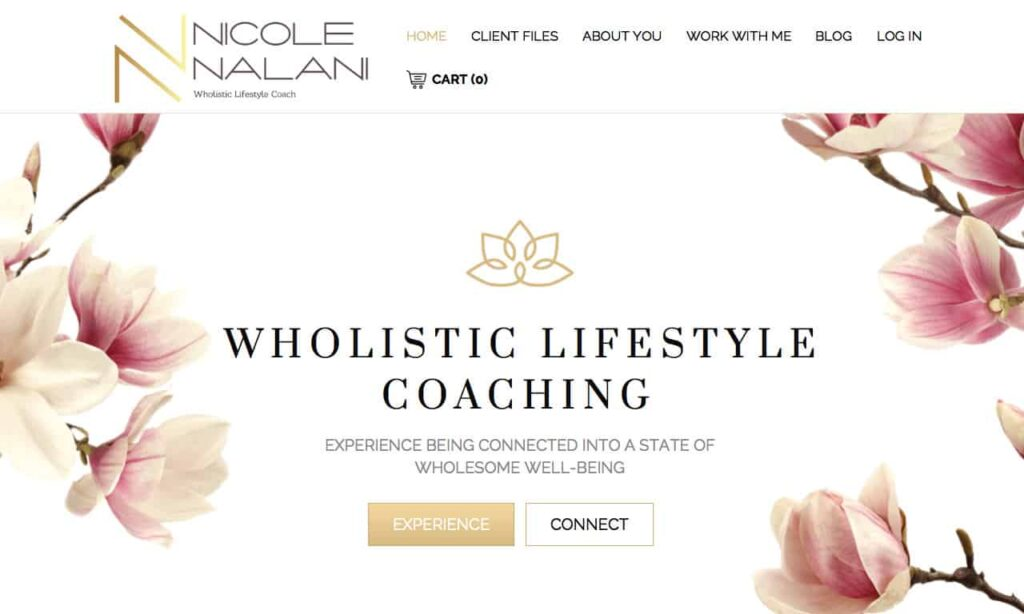 nicolenalani com 1280 768 8 Health Coach Websites to Get You Inspired! 9