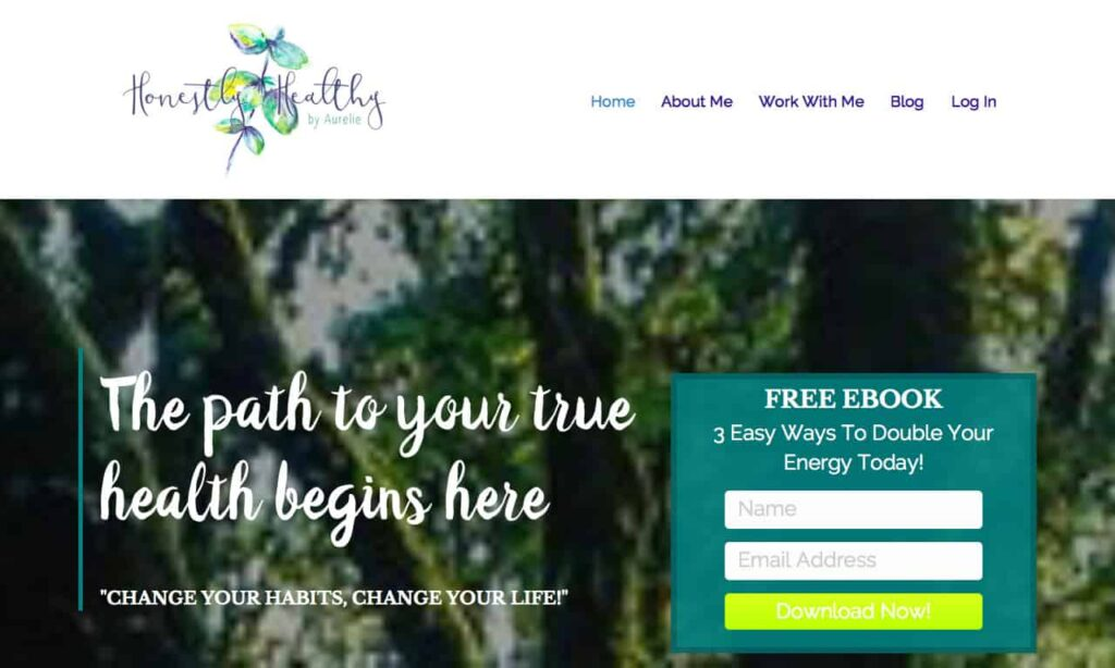 www honestlyhealthycoach com 1280 768 8 Health Coach Websites to Get You Inspired! 13